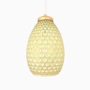 Glass Pendant Lamp, Germany, 1960s