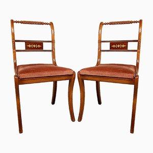 Italian Dining Chair, 1960s, Set of 2