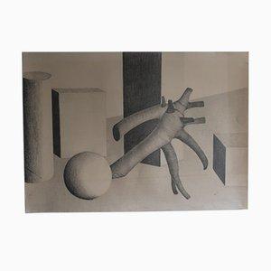 Abstract Design, Graphite, 1970s