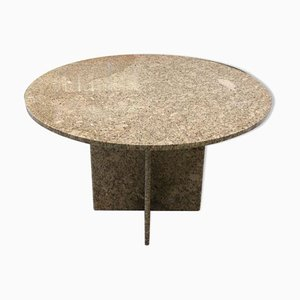 Pink Granite Table, 1970s