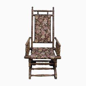 Rocking Chair en Bois, Angleterre, 1930s