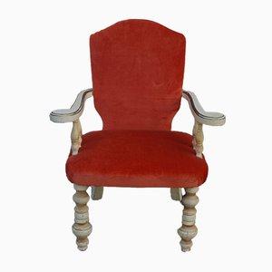 Sessel aus Holz im Florentinischen Stil, 1920er