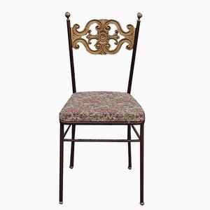 Brass Dining Chair, 1940s