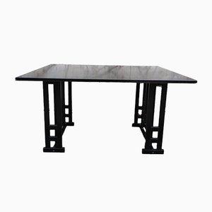Table de Salle à Manger Cassina Style Frêne Noir, 1980s