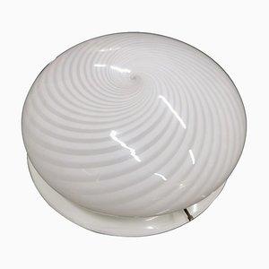 Murano Glas Deckenlampe von Carlo Scarpa für Venini, 1960er