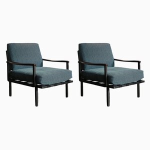 Model P24 Armchairs by Osvaldo Borsani for Tecno, 1961, Set of 2