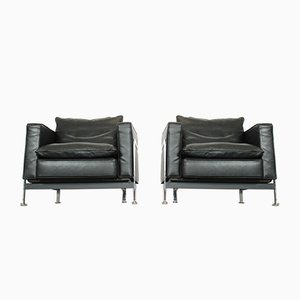 RH-302 Lounge Chairs by Robert Haussmann or de Sede, 1960s, Set of 2