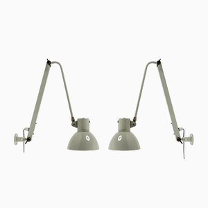 Industrial Wall Lights, 1960s, Set of 2