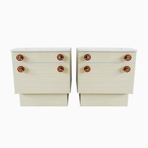 Mid-Century Nightstands, Set of 2