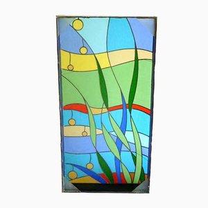 Arte modernista in vetro colorato, Italia, anni '60
