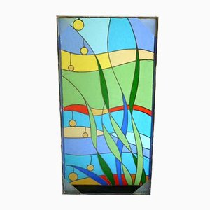 Italian Modernist Stained Glass Art, 1960s