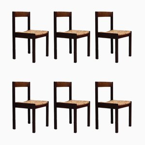 Dining Chairs by Martin Visser & Walter Antonis for t Spectrum, 1970s, Set of 6