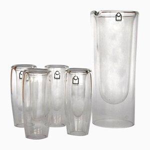 Glas Getränkeservice von Ichendorf, 1970er, 5er Set