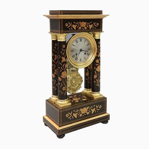 French Belle Epoque Portico Clock from Leroy, 1870s
