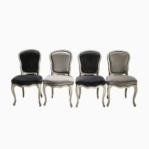 Neoclassical Dining Chairs from Maison Jansen, 1940s, Set of 6