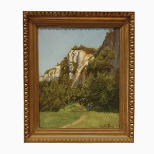 G. Paget, Landscape Painting, Oil on Canvas, 1800s