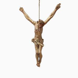 Italian Wooden Christ Sculpture, 1600s