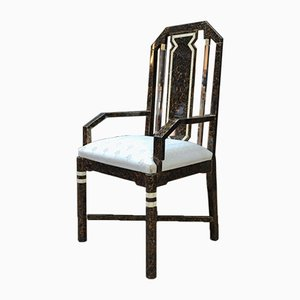 Brass & Plexiglass Lounge Chair, 1970s