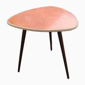 Triangular Teak Coffee Table, 1960s