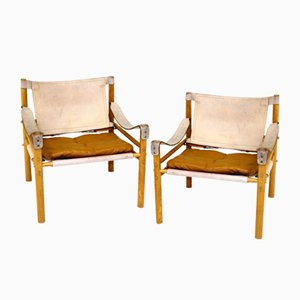 Sirocco Lounge Chairs by Arne Norell, 1960s, Set of 2