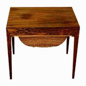 Niederländischer Werktisch aus Palisander von Severin Hansen, 1960er