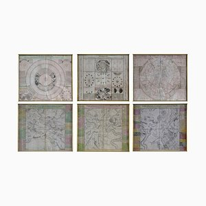 Engravings Celestial Charts, 1740