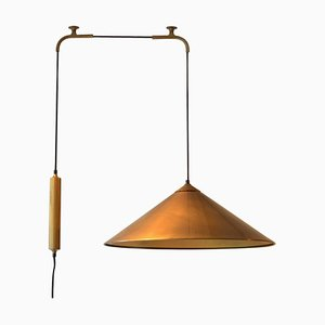 Keos Counterbalance Brass Pendant by Florian Schulz
