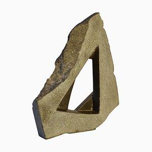 Black Granite Geometric Abstract Dutch Sculpture