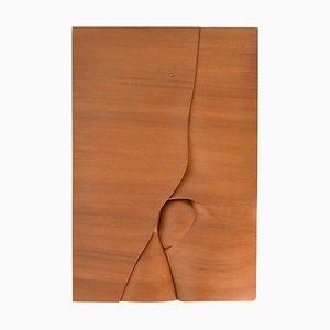 M. Delaere, Rast vor dem Aufstieg, Holzschnitzerei, 1980er