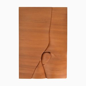 M. Delaere, Rest Before the Climb, Wood Carving, 1980s