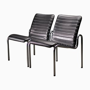 703 Easy Chairs by Kho Liang Ie, Set of 2