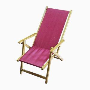 Chaise de Plage pour Enfant, Italie, 1960s