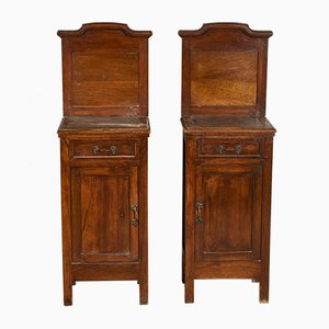 Italian Nightstands, 1920s, Set of 2