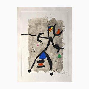 Joan Miró for Alberti, For L'espana For Alberti, For Spain, Etching