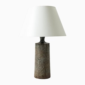 Stoneware Table Lamp by Stig Lindberg