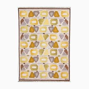 Swedish Handwoven Ilse Carpet by Anna Greta Sjöqvist, 1950s