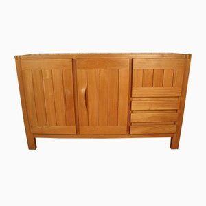 Elm Sideboard from Maison Regain, 1970s