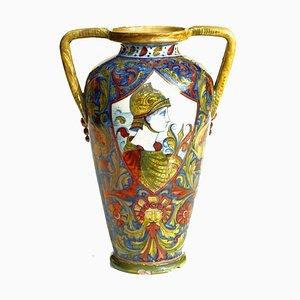 Antique Italian Ceramic Vase from ICAP