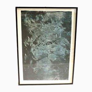 Jean Thayan, Screen Printing, Abstract Art, 1950s, Mid-Century Modern