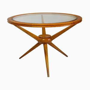Coffee Table with Round Top by Cesare Lacca, 1950s