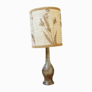 Ceramic Table Lamp from Jean Tessier Atelier du Cep, 1960s