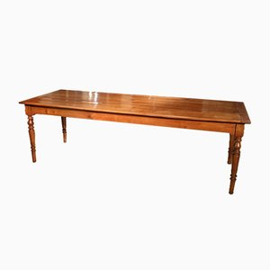 French Cherry Wood Dining Table