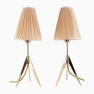 Lámparas de mesa de JT Kalmar para Kalmar, años 50. Juego de 2