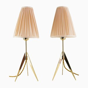 Table Lamps by J. T. Kalmar for Kalmar, 1950s, Set of 2