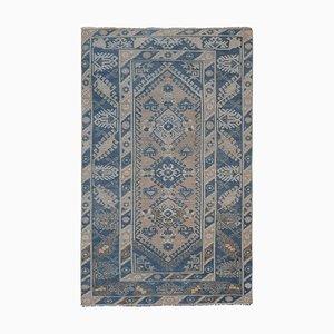 Turkish Distressed Oushak Carpet, 1970s