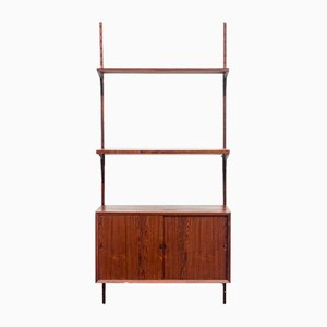 Rosewood Wall Unit by Poul Cadovius for Cado, 1960s