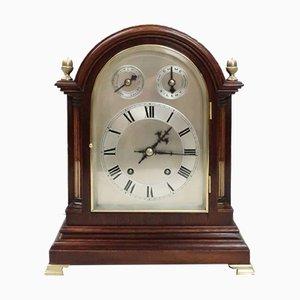 German Mahogany Ting Tang Striking Bracket Clock from Winterhalder & Hofmeier, 1890s
