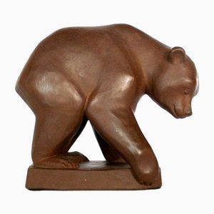 Bär aus Porzellan von Meissen, 1930er