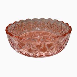 Mid-Century Glass Bowl for Hortensja Glassworks, 1960s