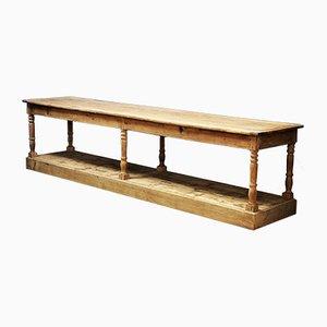 Belgischer Eichenholz Tisch aus 19. Jh